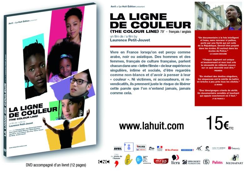 Flyer JPEG DVD La Ligne de couleur