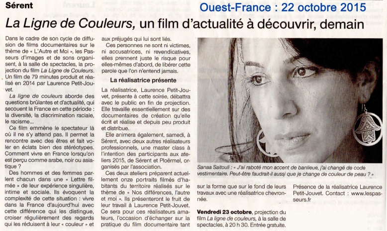 Ouest France 2015 10 22