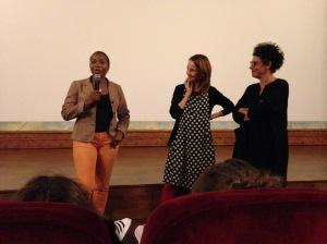 en présence du Docteur Maïmouna Coulibaly, Docteur Claire Mestre et Laurence Petit-Jouvet
